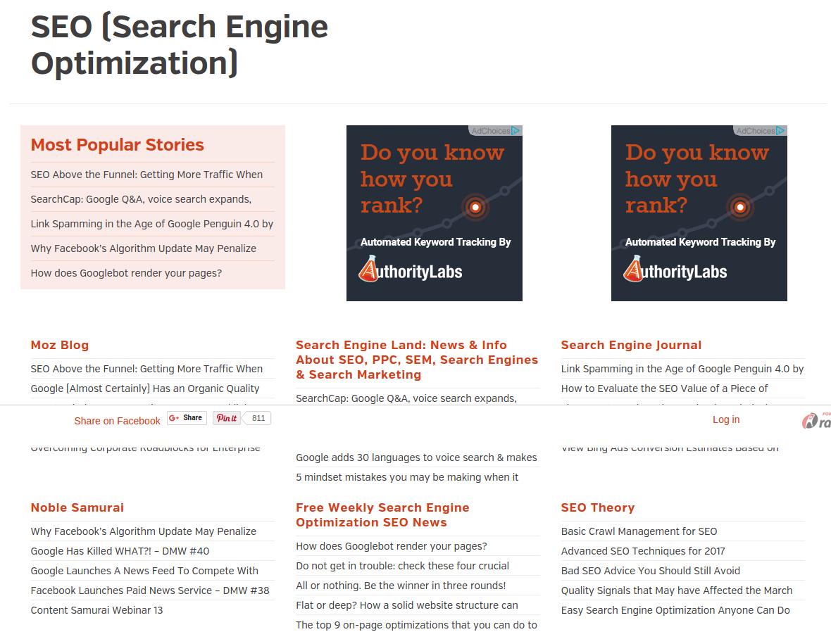 Tìm kiếm Alltop với các nhà khai thác của Google