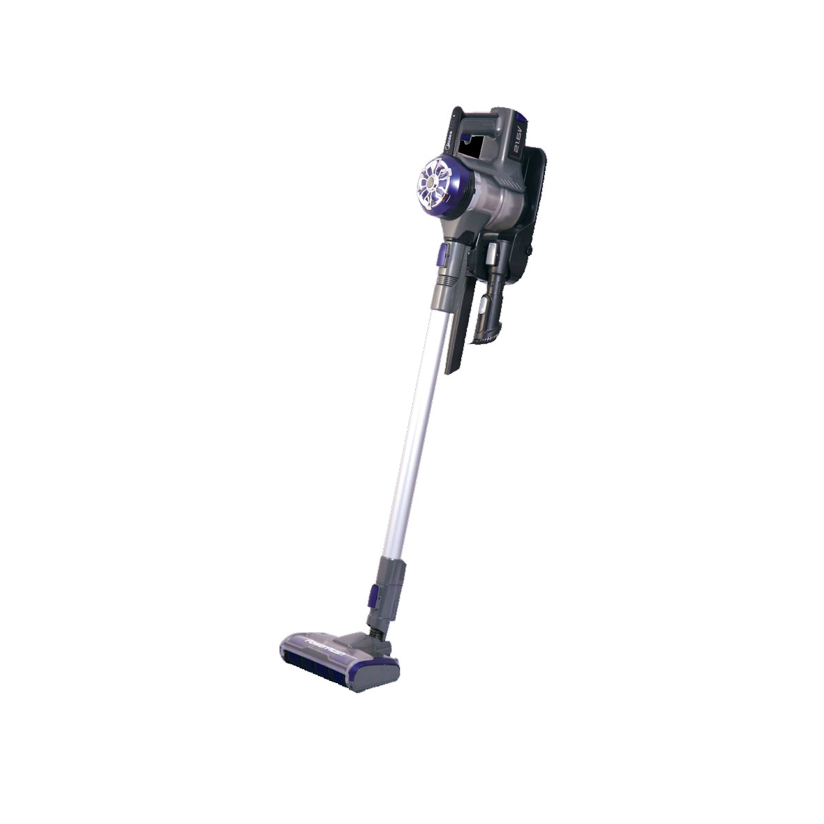 The Midea MVC-P1217Z is a cordless rechargeable vacuum cleaner.