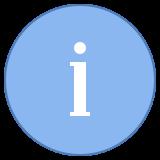 Informações icon