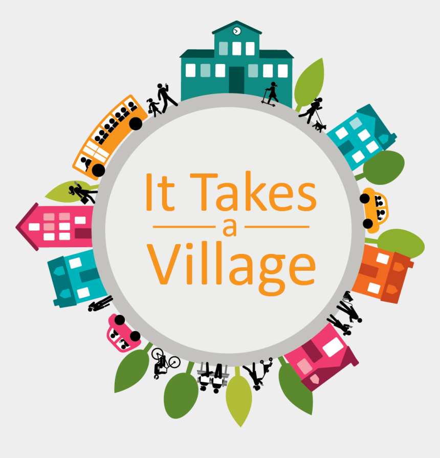 Community Partnerships - Thank You It Takes A Village, Cliparts & Cartoons  - Jing.fm