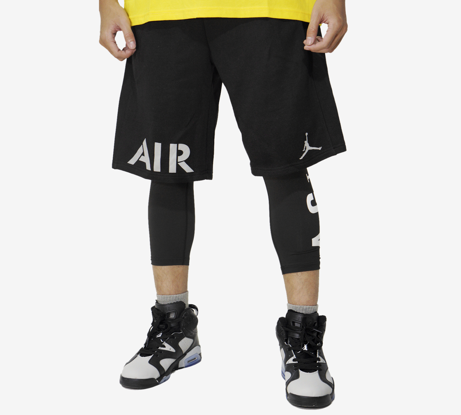 "Quần Short Jordan ""AIR"" Black/ White"