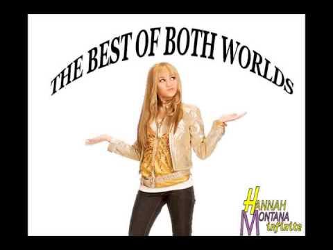 The Best Of Both Worlds - Hannah Montana [Lyrics] - YouTube