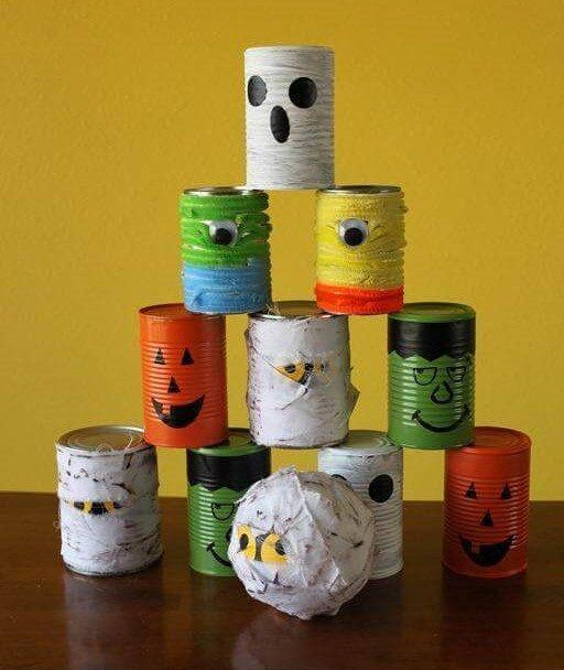 Juegos de Halloween para niños punteria