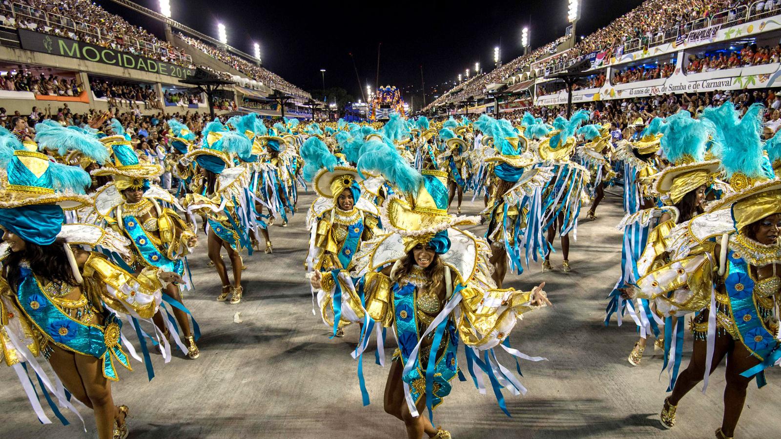 Lễ hội Rio Carnival, Brazil