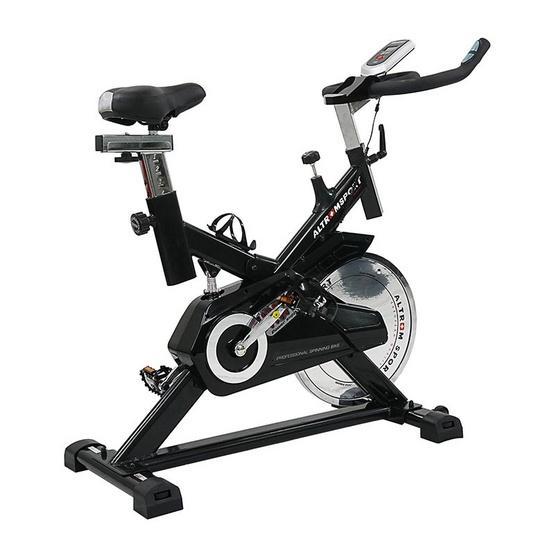 ALTROM SPORT จักรยานบริหารสปินไบค์ รุ่น AM-7808 สีดำ | ShopAt24.com