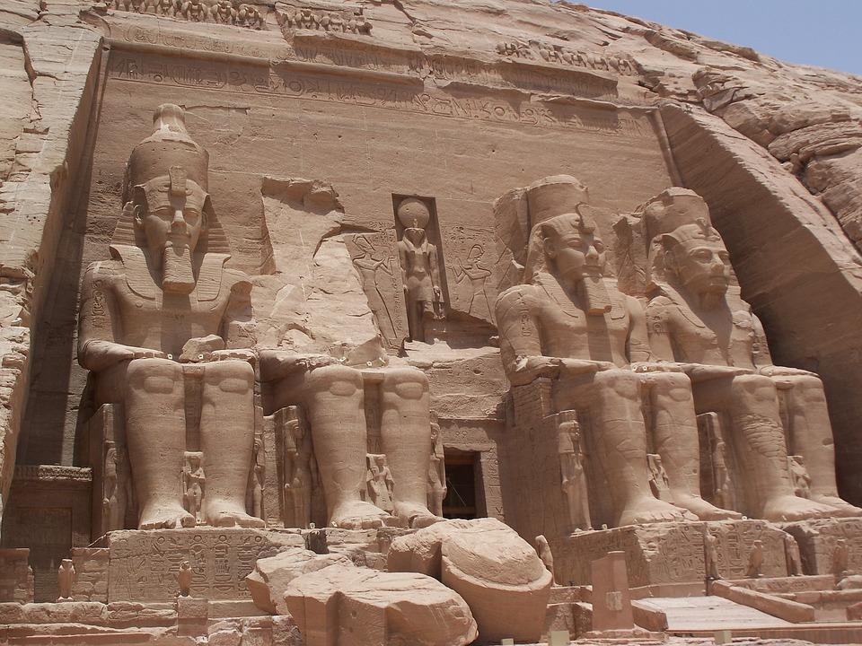 Rams 2, Tomb, Abu Symbol, Ancient Egypt