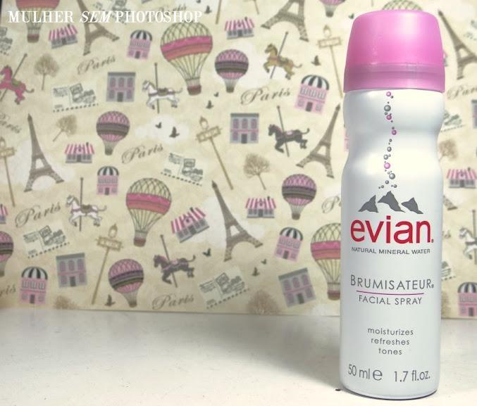 Água Termal Evian  - resenha