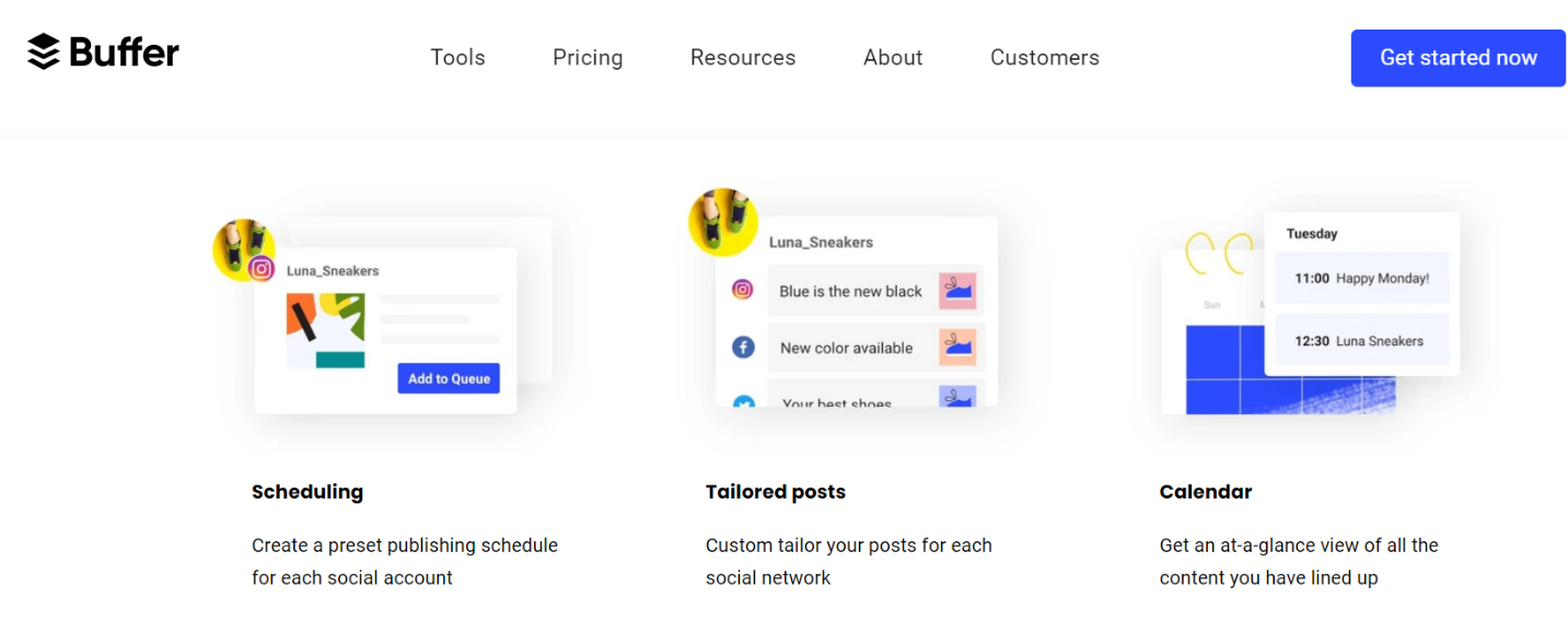 Buffer - Social Media Tool & Software