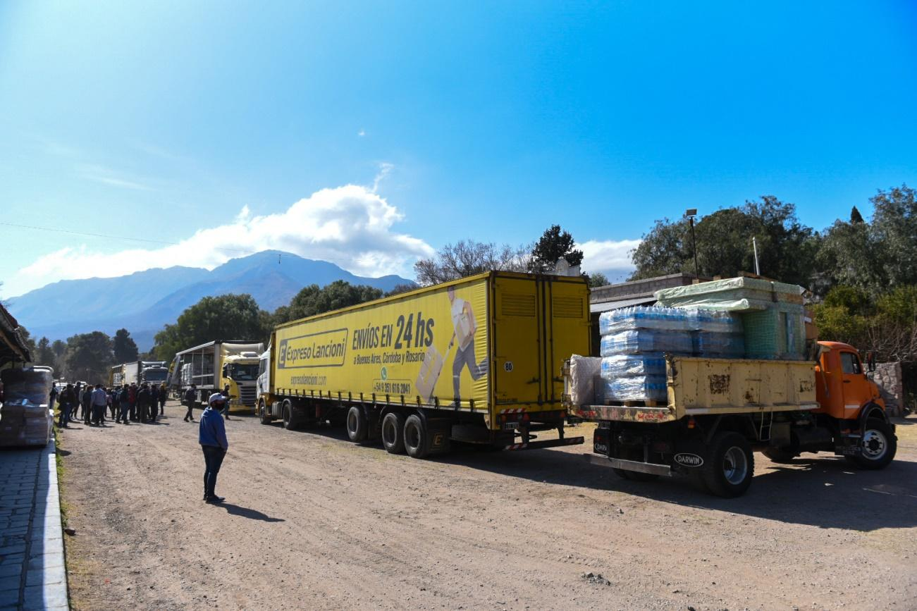 Ministerio de Desarrollo Social asiste a las familias evacuadas del Valle de Punilla 4