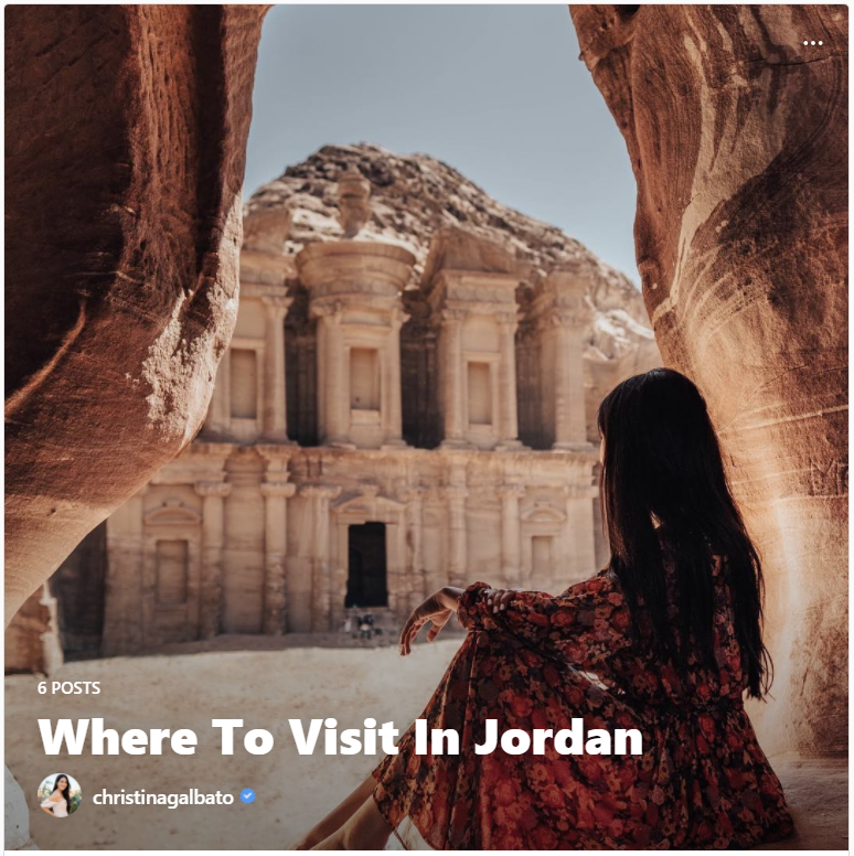 where to visit in jordan instagram guides