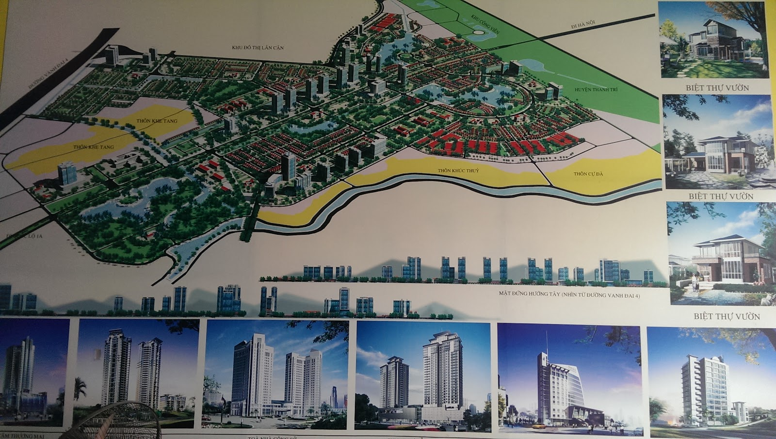 Bản đồ khu đô thị Thanh Hà Cienco 5