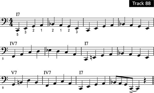 Partituras de piano.