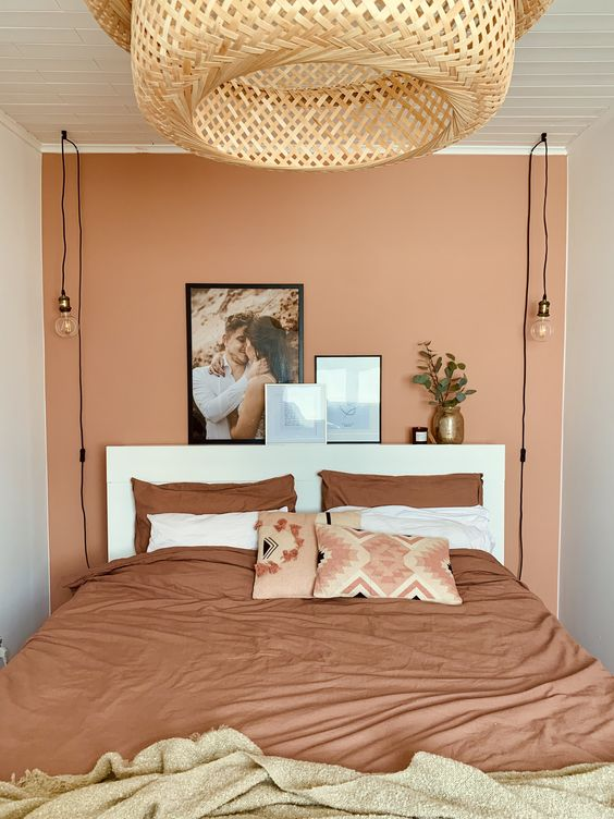 Warm Vibe with Terracotta Bedroom