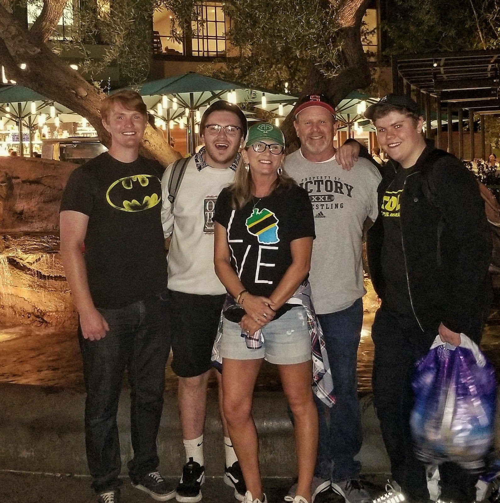 Family Picture at Disneyland