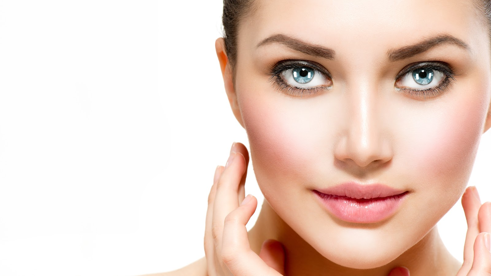 Картинка девушка Макияж носа Лицо красивая Губы Взгляд 3840x2160