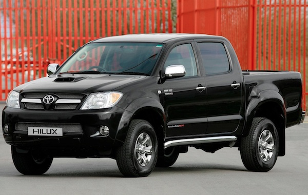 Toyota Hilux Vigo Double Cab 4 ประตู