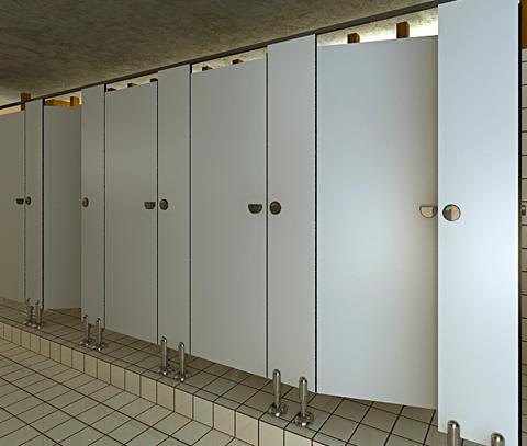 Tấm vách ngăn composite sự lựa chọn hàng đầu cho nhà vệ sinh