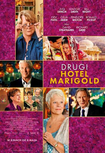Polski plakat filmu 'Drugi Hotel Marigold'