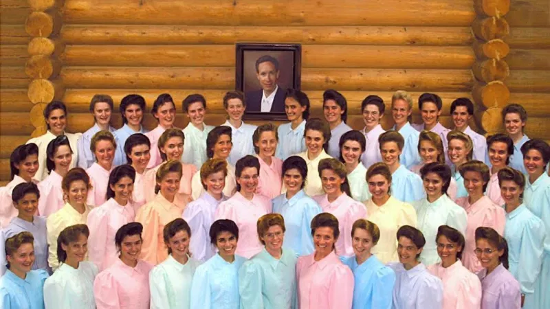 A group of mormons