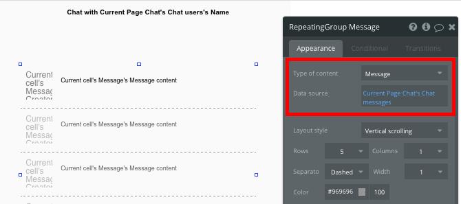 Criar um app tipo whatsapp - grupo repetidor