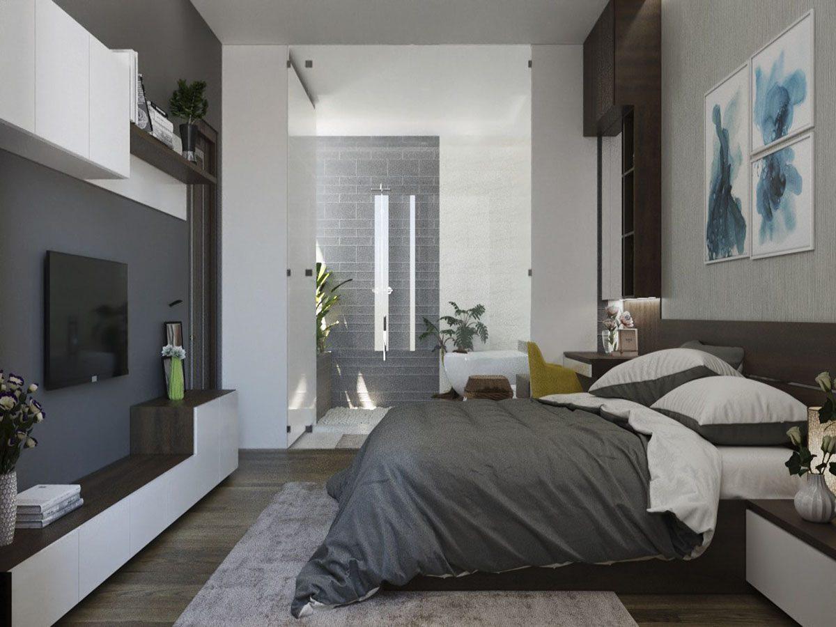 Phòng ngủ có nhà vệ sinh khép kính 1