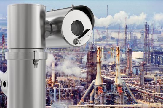 Globally certified explosion-protected cameras for use in hazardous areas