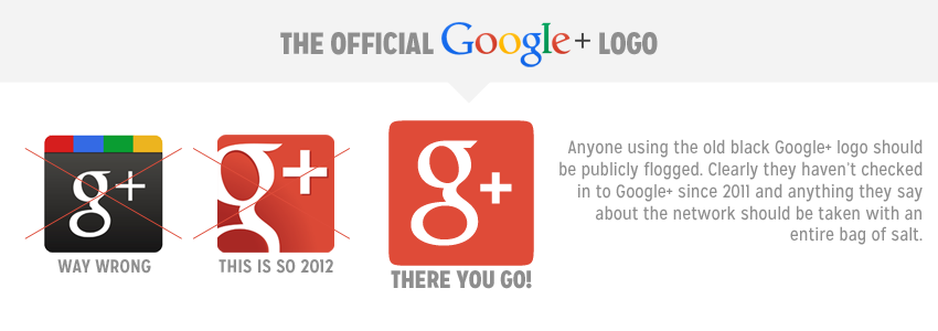 official google plus logo