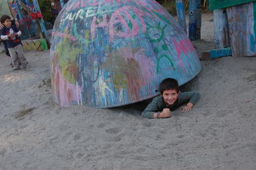 Berkeley Adventure Playground Underground