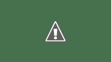 Złożone łóżko gotowe do jazdy - przypięte pasami