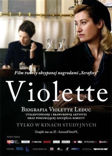 Przód ulotki filmu 'Violette'