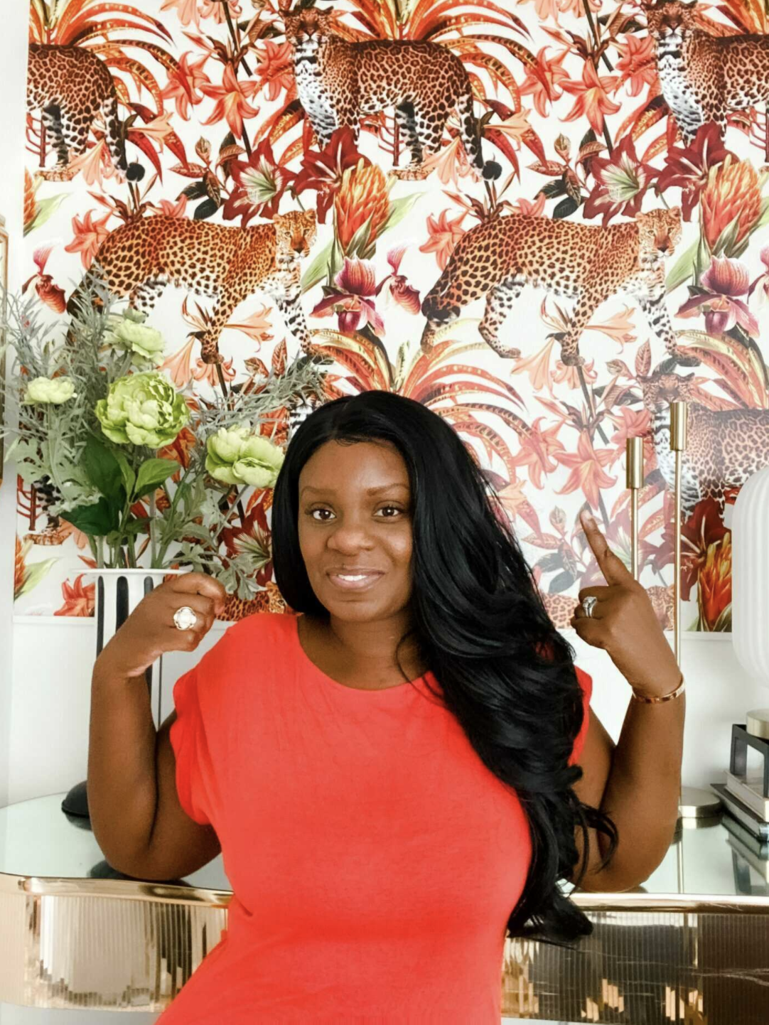 Designer/Influencer Tiffany Brown of My Eclectic Nest
