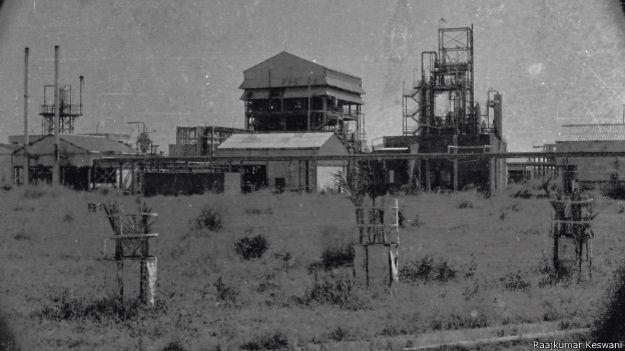 भोपाल गैस त्रासदी, यूनियन कार्बाइड कारखाना