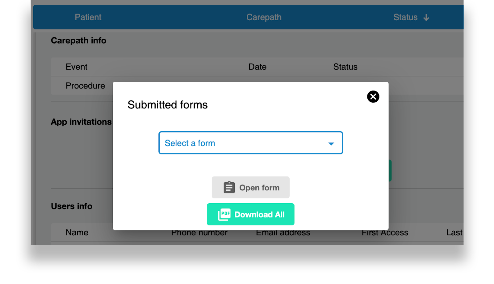 Merging all forms into one PDF file feature update