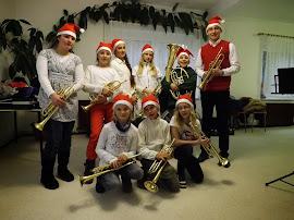Kurz vor dem weihnachtlichen Auftritt (Bild A.M.)