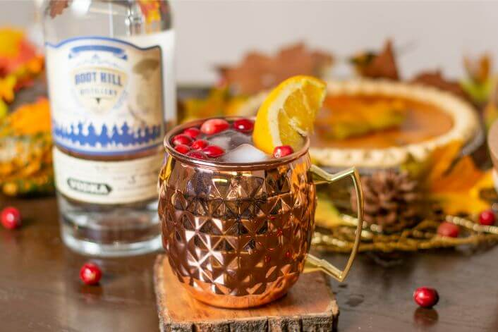 Mulesgiving by Boot Hill Distillery
