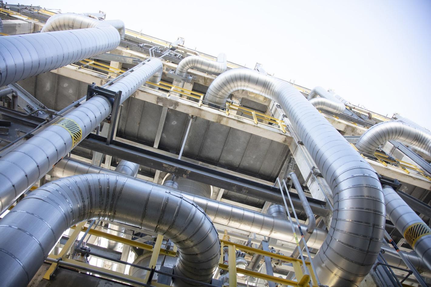 Thép ống được ứng dụng trong công trình đường ống dẫn khí