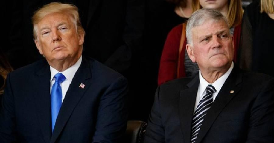 Rev. Franklin Graham: President Donald Trump Will Go Down ...