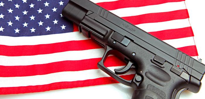 За 12 лет, от огнестрельного оружия погибло больше людей, чем от наркотиков, СПИДа и воин в Ираке и Афганистане. Фото: Hollywood journal