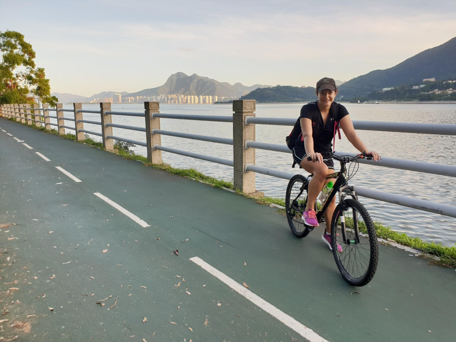 cycling in Sha Tin