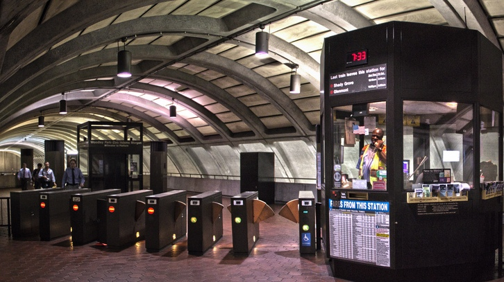 Image result for WMATA station faregates
