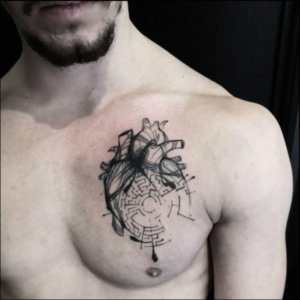 ลายสักหัวใจผู้ชาย8