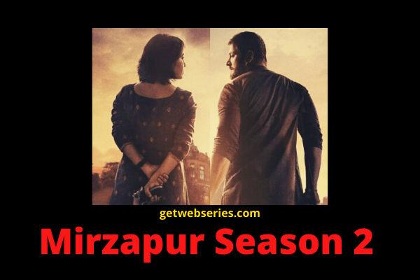 Mirzapur Season 2 Best Web Series on Amazon Prime in Hindi