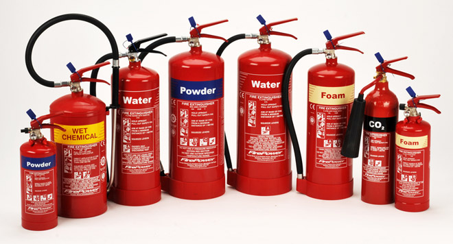 Different Classes Of Fire Extinguishers