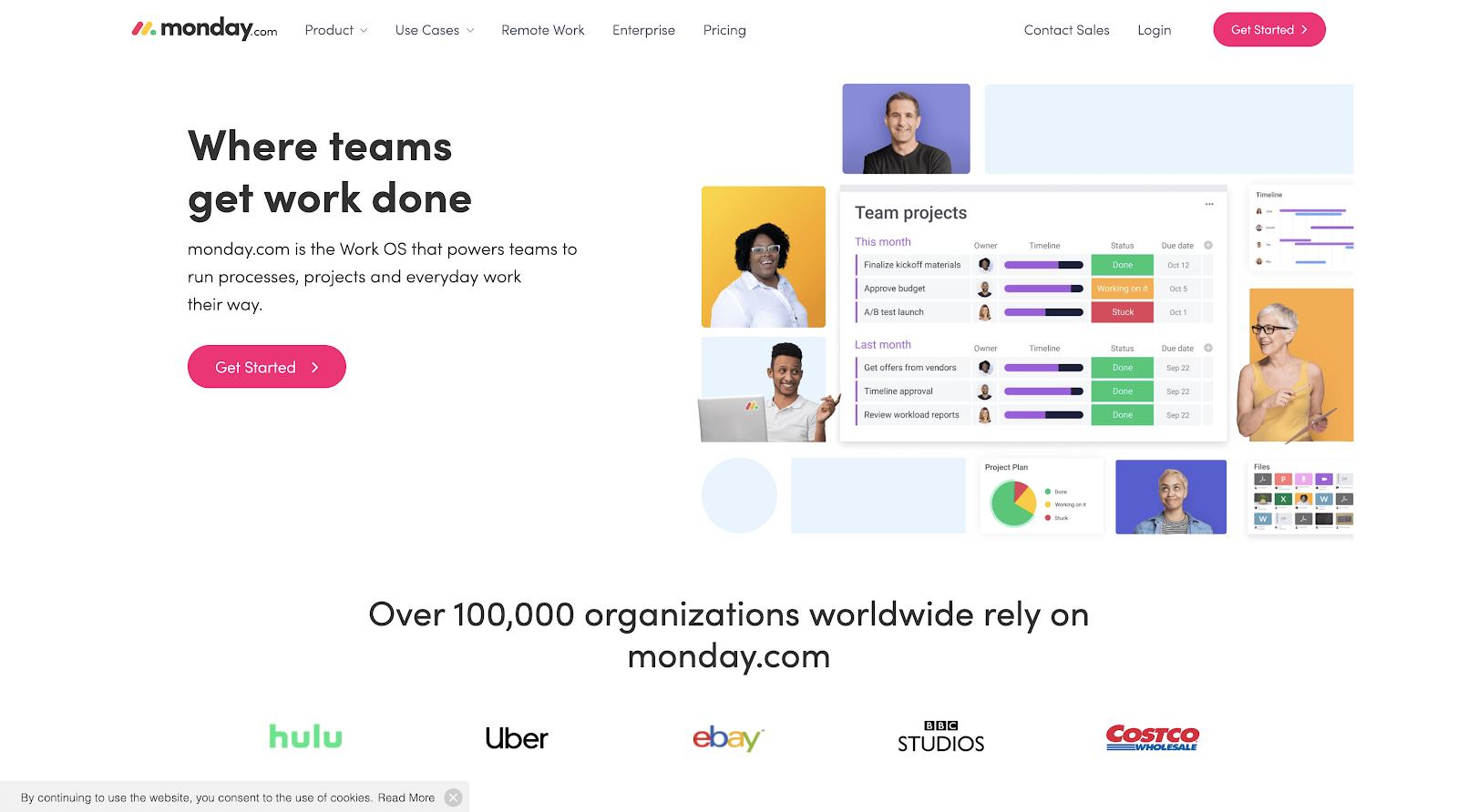 monday.com - Where teams get work done