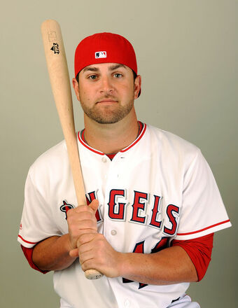 Angels Catcher Mike Napoli