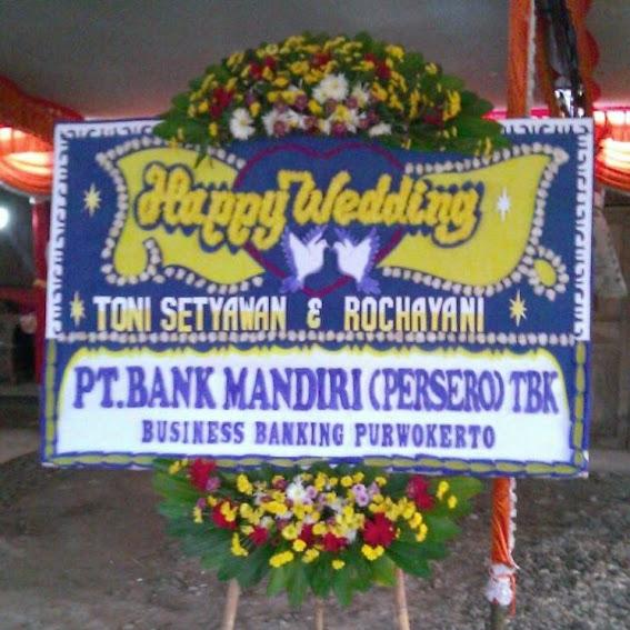 Karangan Bunga Happy Wedding Solo - Pak Jokowi 2