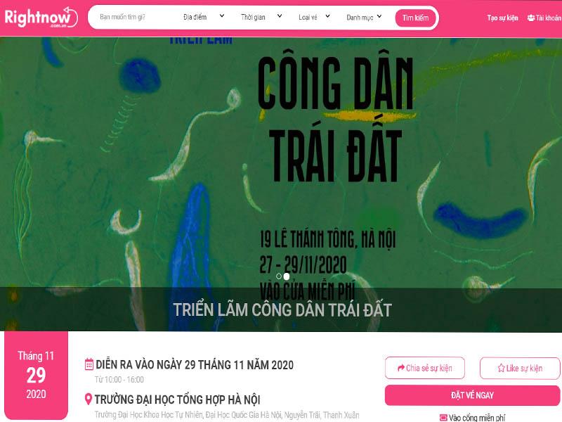 """Sự kiện """"Triển lãm công dân trái đất"""" tại Hà Nội"""