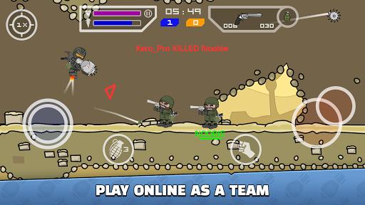 Mini Militia Mod APK unlimited health Ammo and Nitro