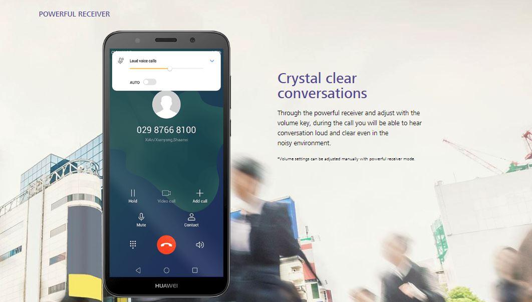 Huawei Y5 Prime 2018 Dual SIM LTE (Botswana Warranty)