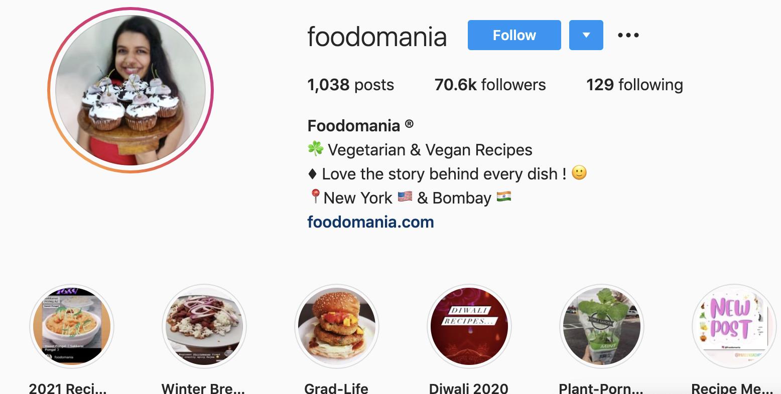 Kavita Ram | India-born Foodie